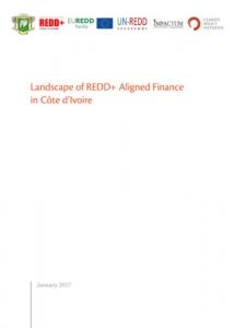 Landscape of REDD+ Aligned Finance in Côte d'Ivoire